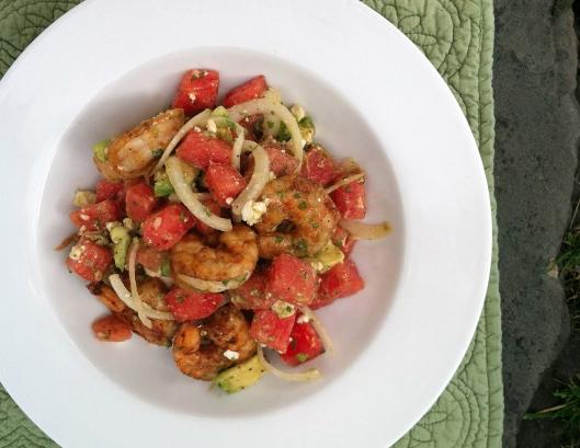 watermelon salad 5