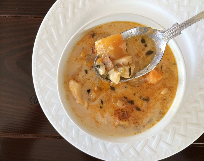 cod chowder